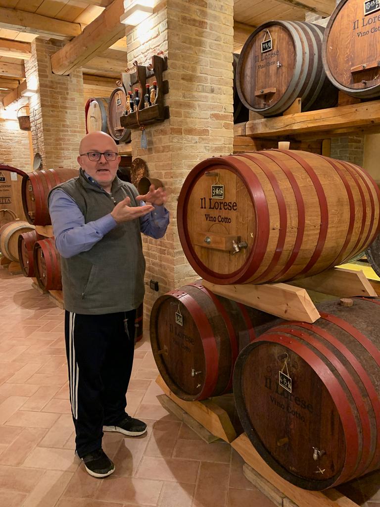 Vino Cotto tasting at Cantina il Lorese