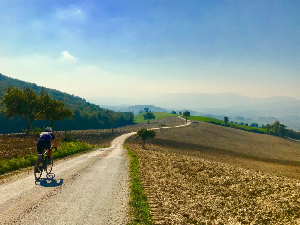 Cycling in the Marche